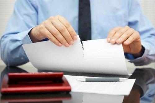 Carta de despido disciplinario